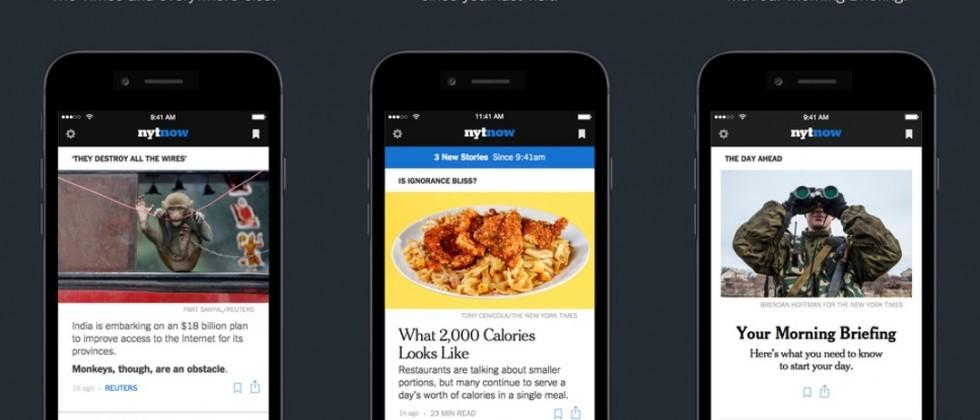 NYT Now goes free for iOS, adds impressive features