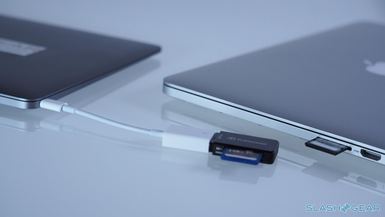 MacBook USB-C SD adapter