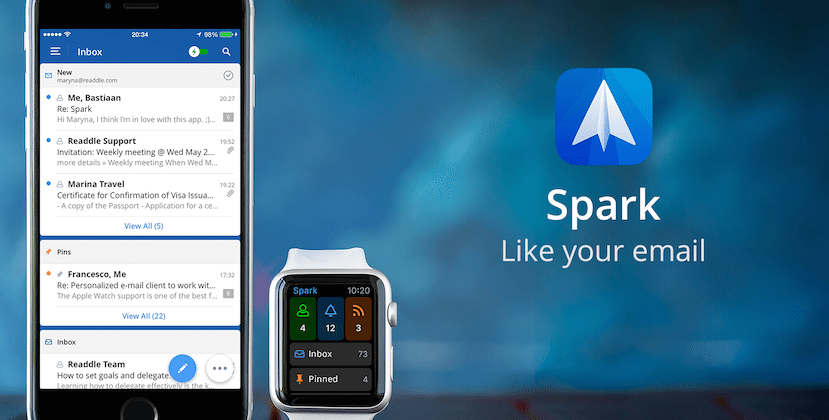 Spark email app offers customization, clever Apple Watch integration