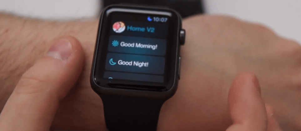SmartThings iOS app adds Apple Watch capabilities