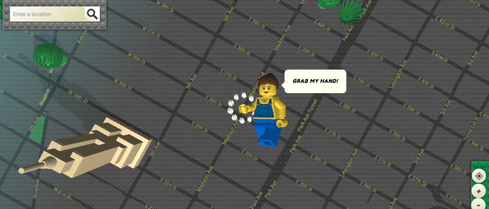 Brick Street View turns Google Maps into LEGOs