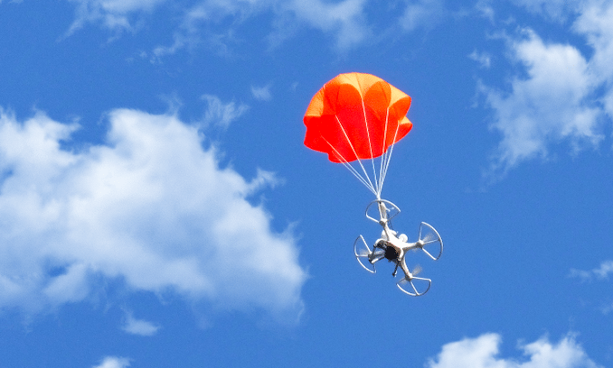 SmartChutes are parachutes for your (falling) drone