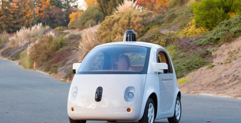 Self-driving cars have accidents, too — but humans are to blame