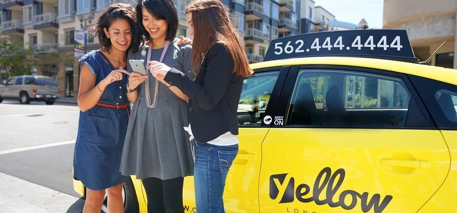 Long Beach cabs get makeover, now have an Uber-like app