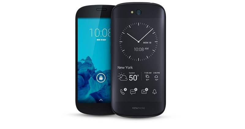 YotaPhone 2 enters the US via Indiegogo