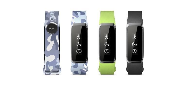 Acer outs more wearables: Leap Active, Leap Fit, Leap Curve
