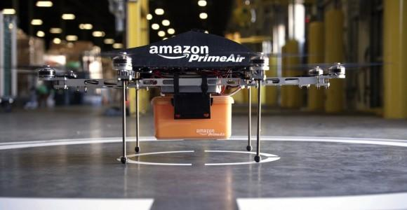 Amazon patent details how drones will find you, talk to each other