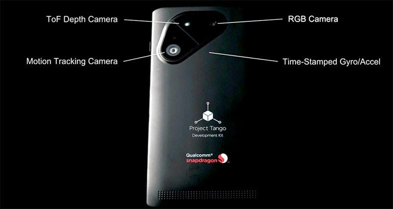 Qualcomm partners with Google on Tango phone
