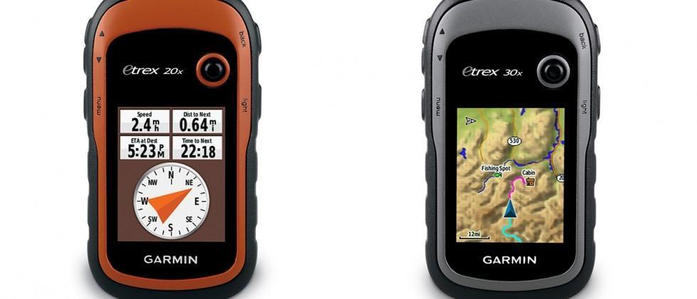 Garmin eTrex 20x, 30x handheld GPS bring high-res displays