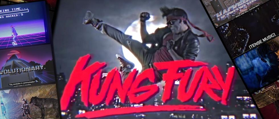 Drop everything and watch: Kung Fury has been released