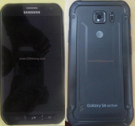 Galaxy S6 Active: first leaked image