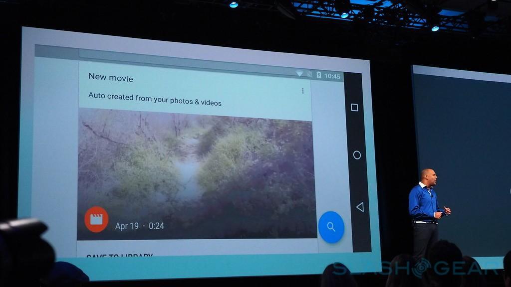 """@SlashGear and @Androids Google IO 2015 Keynote"""