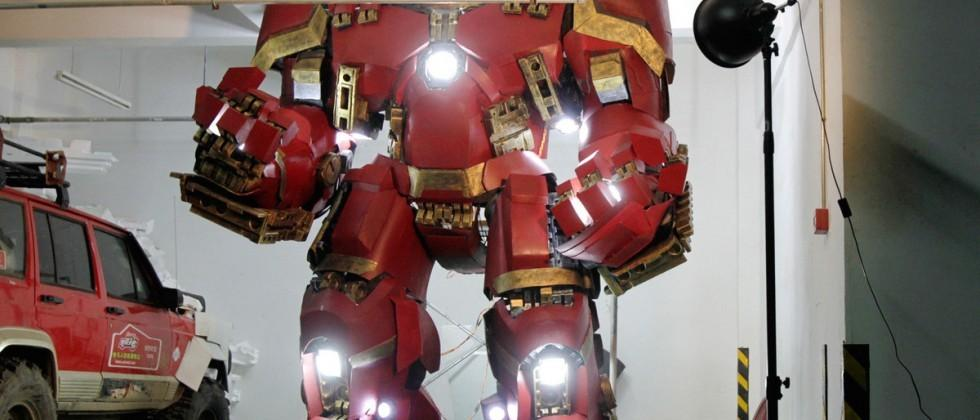 Chinese Iron Man fan builds his own Hulkbuster armor