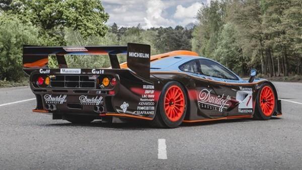 The ultra-rare Top Gear McLaren F1 GTR is being sold
