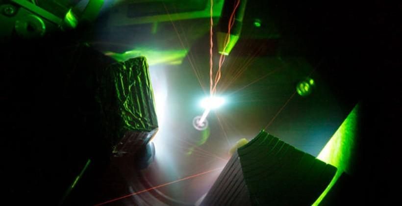 Super-powerful laser creates plasma hotter than the sun