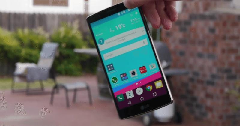 It's the LG G4's turn to get a brutal drop test