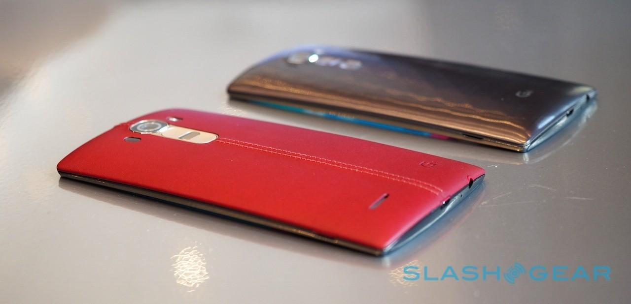 LG G4 leather vs plastic