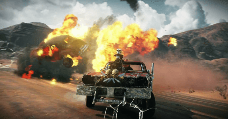 Mad Max Savage Road game trailer: it's no Fury Road