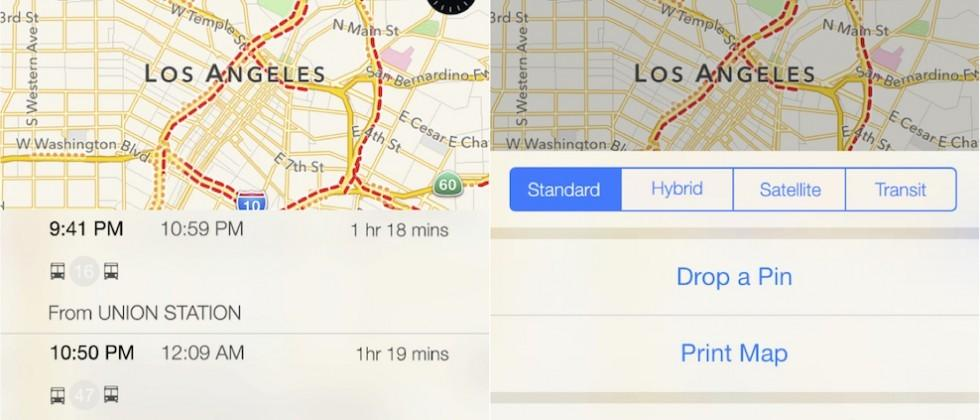 iOS 9's transit directions to see limited rollout in only 6 cities