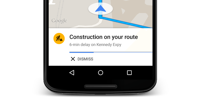 Google Maps rolls out traffic alerts and alternate routes
