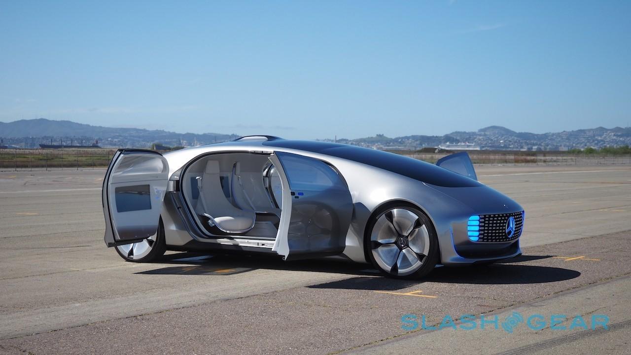Mercedes self-driving car