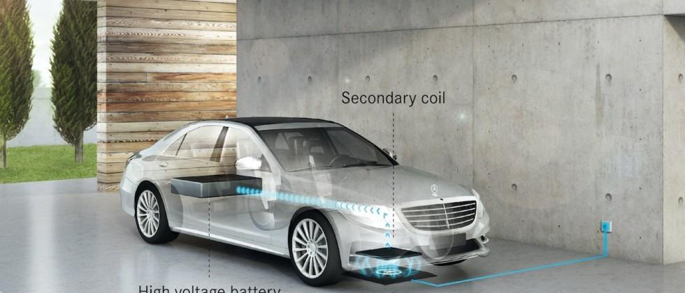 Mercedes and Qualcomm team on wireless charging cars