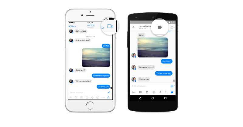 Facebook Messenger video calling now rolling out to all