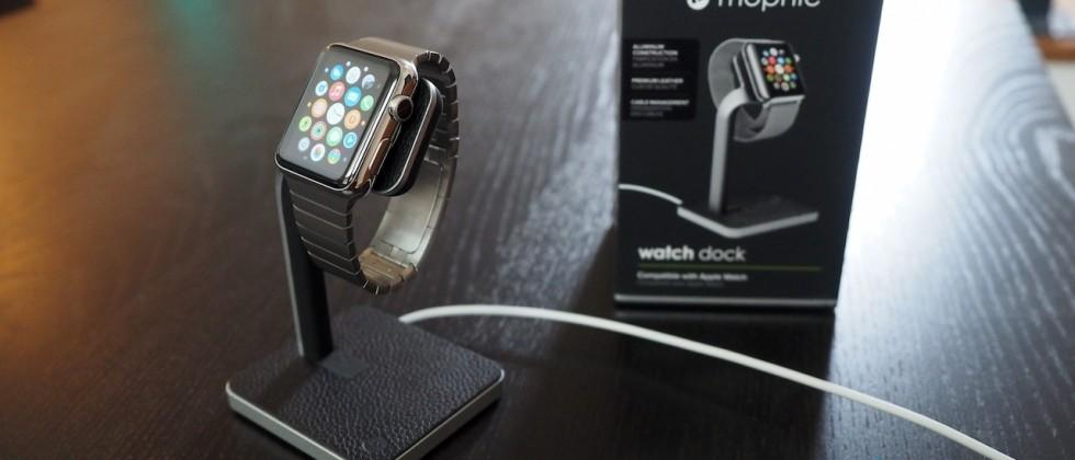 Mophie Watch Dock for Apple Watch Review