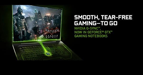 NVIDIA's G-SYNC tech finally lands on notebooks