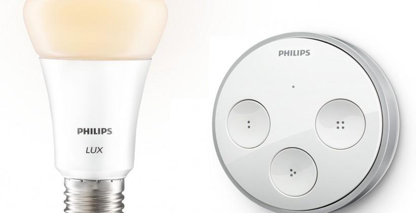 Logitech Harmony universal remotes gain Philips Hue control