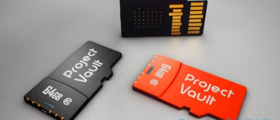 Google Project Vault bakes super-security into microSD