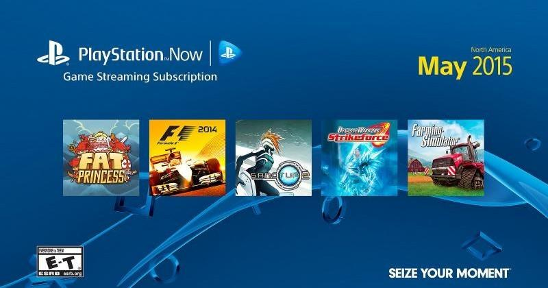 PlayStation Now hits the PS3 on May 12th