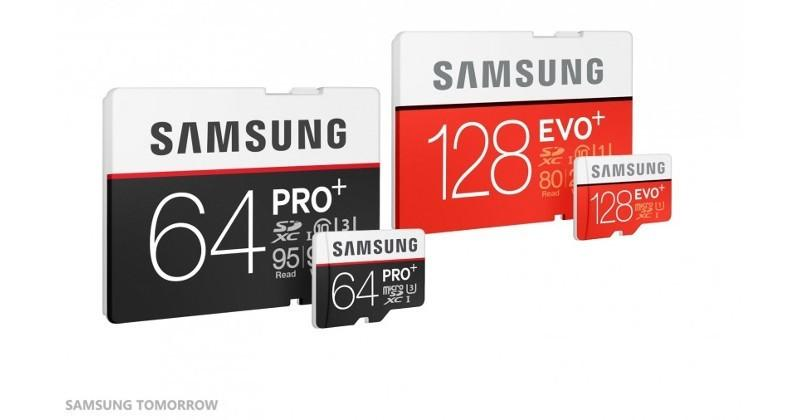 Samsung PRO Plus, EVO Plus memory cards ready for UHD content