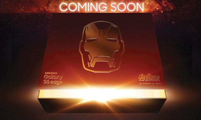 Iron Man Galaxy S6 Edge official: incoming internationally