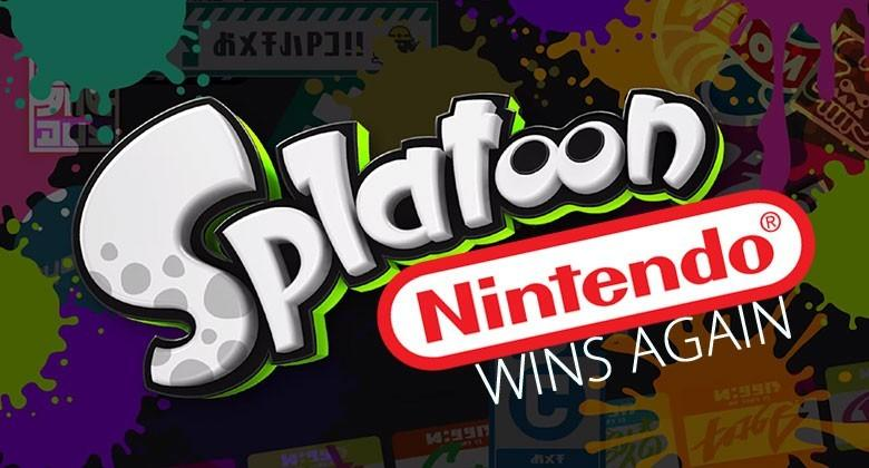 Splatoon for Wii U appears to be an instant hit