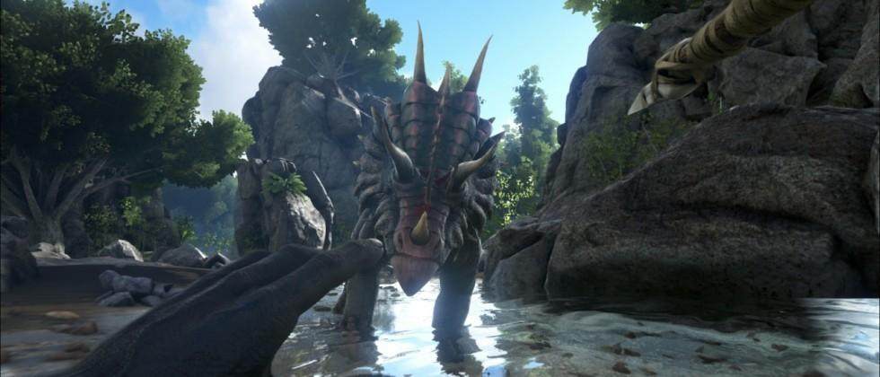 That dinosaur game works in VR with Oculus Rift