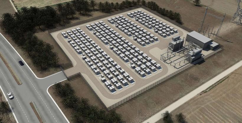 Amazon announces pilot program to test Tesla stackable battery units