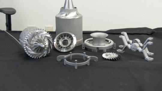 Engineers 3D printed a working mini jet engine