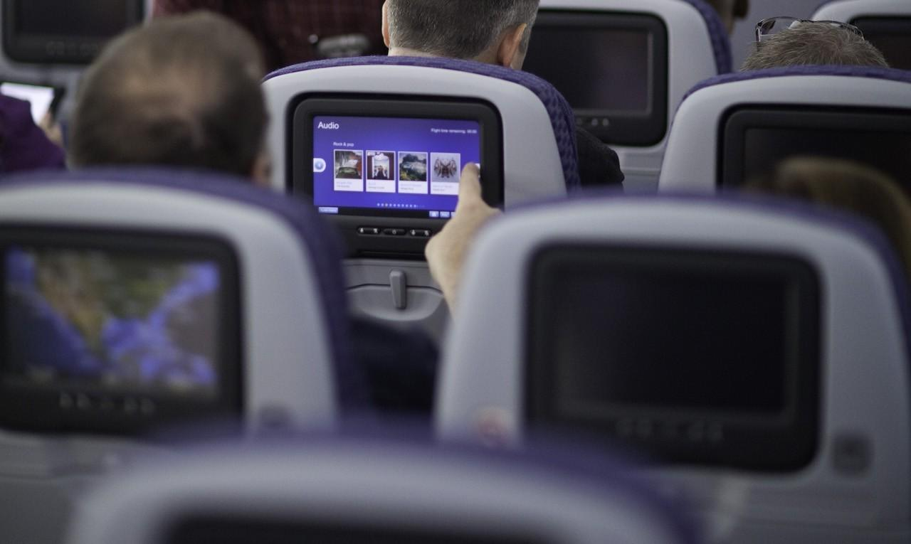 United in-flight entertainment