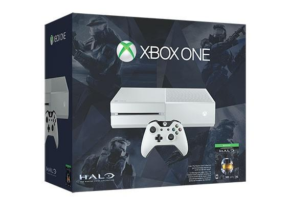 """Xbox One Master Chief Bundle arrives in """"Cirrus White"""""""