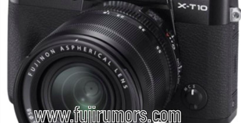 Fuji X-T10 image leaks ahead of launch tipped for May 18