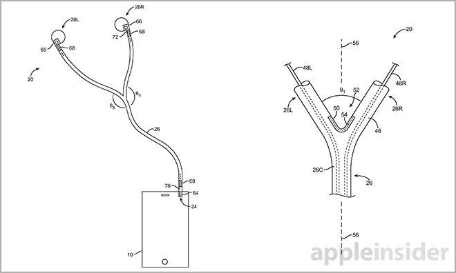 Apple patent details earphones that can be used between 2 listeners