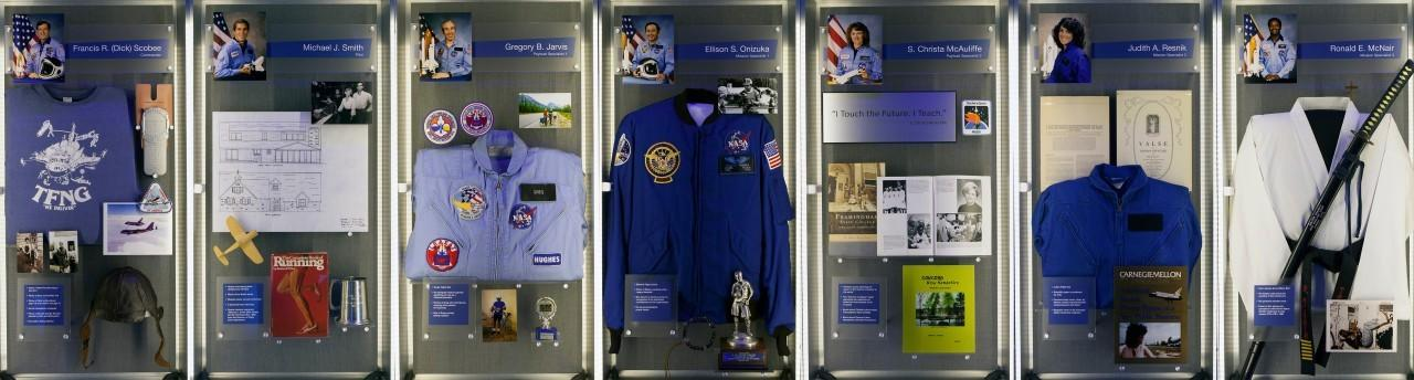 NASA puts never-before-seen Challenger, Columbia shuttle wreckage on display