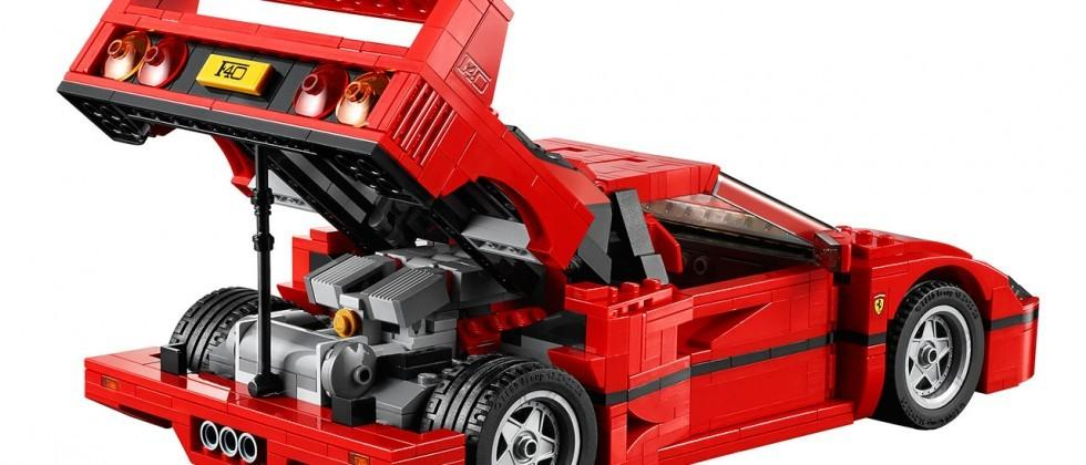 LEGO Ferrari F40 immortalizes classic supercar in plastic