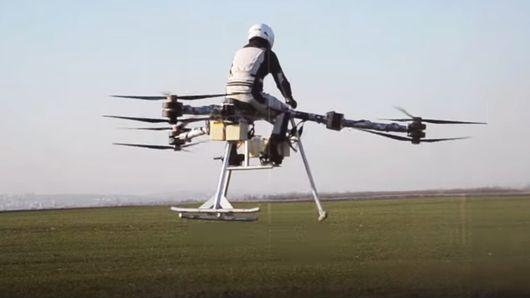 Flying tricycle passes manned test flight with flying colors