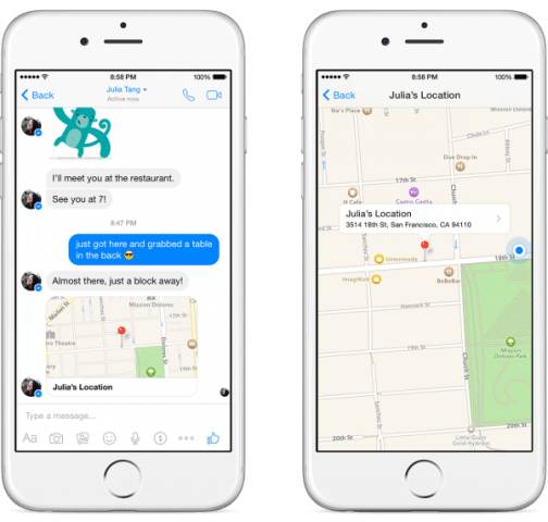 Facebook Messenger drops constant location sharing for user