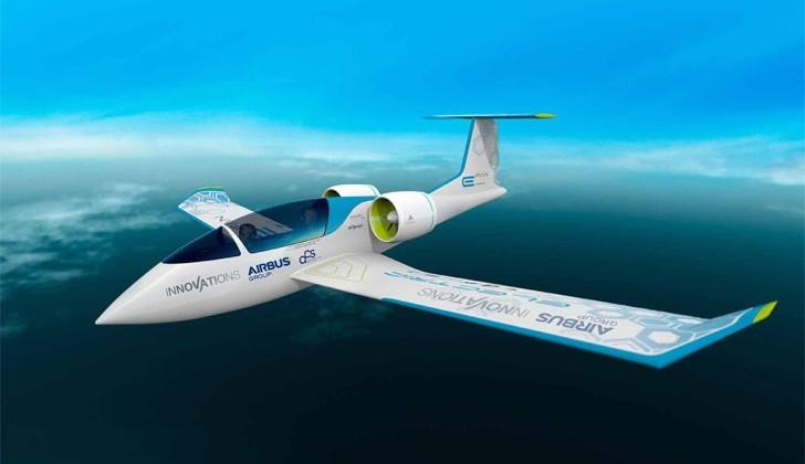 Airbus intros new all-electric aircraft prototype