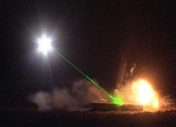 U.S. Army and Air Force build laser-blasting bomb-disposal vehicle