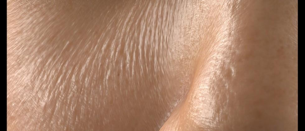 Researchers create creepy, hyperrealistic CGI skin
