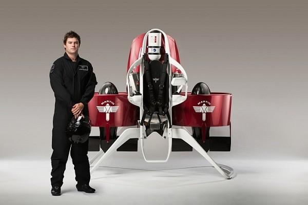 Latest Martin jetpack wants to send you sky high in 2016